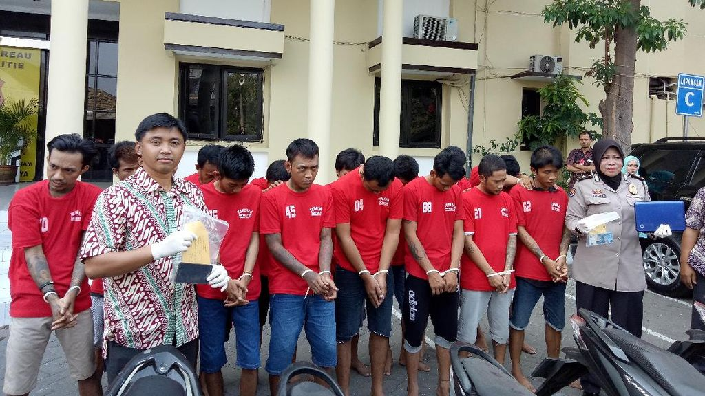 18 Penjahat Jalanan Diamankan Polisi Surabaya Sebulan Terakhir