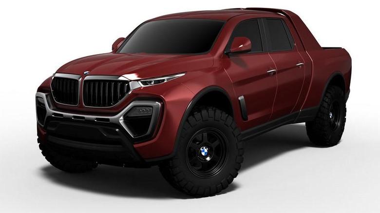 Ini Desain Pikap BMW?
