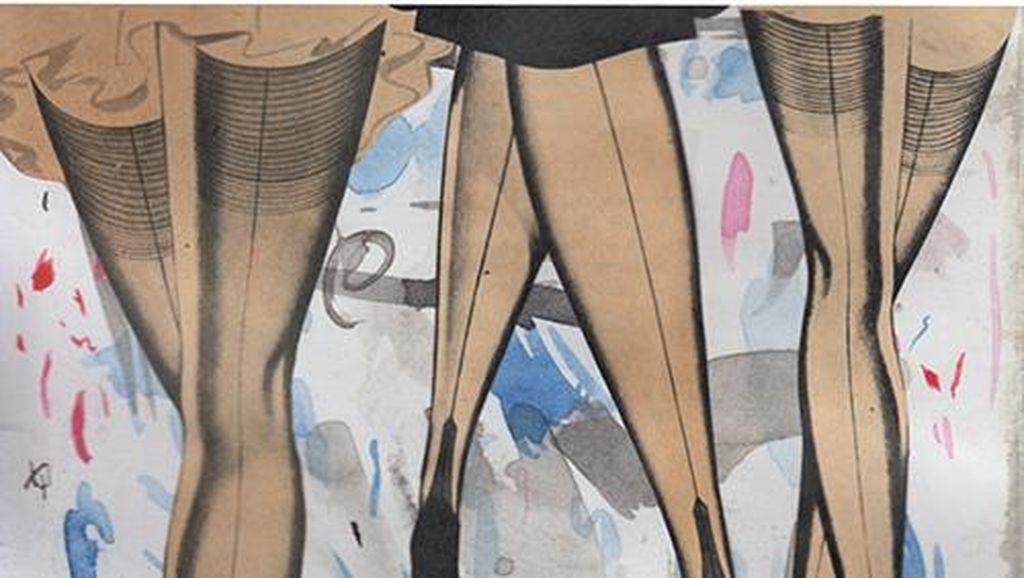 Ika Vantiani Pamer Karya Eksplorasi tentang Kertas di Thailand