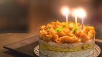 Bosan Kue Ulang Tahun Biasa? Cobain Salted Egg Cake yang Gurih Ini!