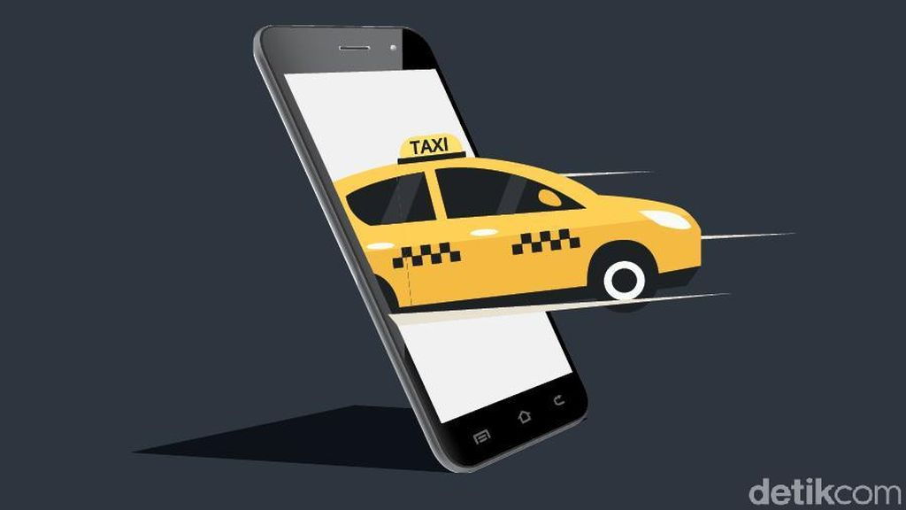 Taksi Online Wajib Pasang Stiker Identitas, Begini Cara Dapatnya