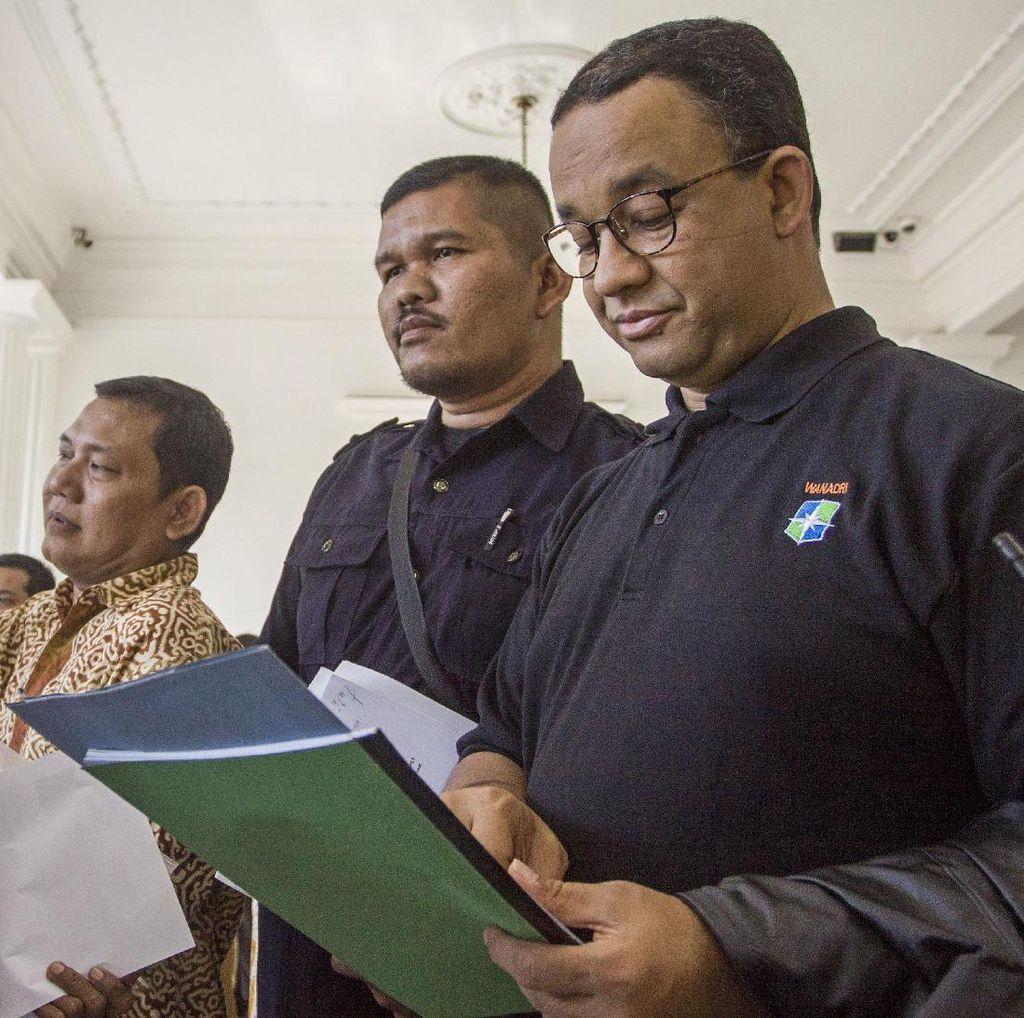 Anies Ungkap Pertemuan dengan Pengembang Reklamasi di Rumah Prabowo