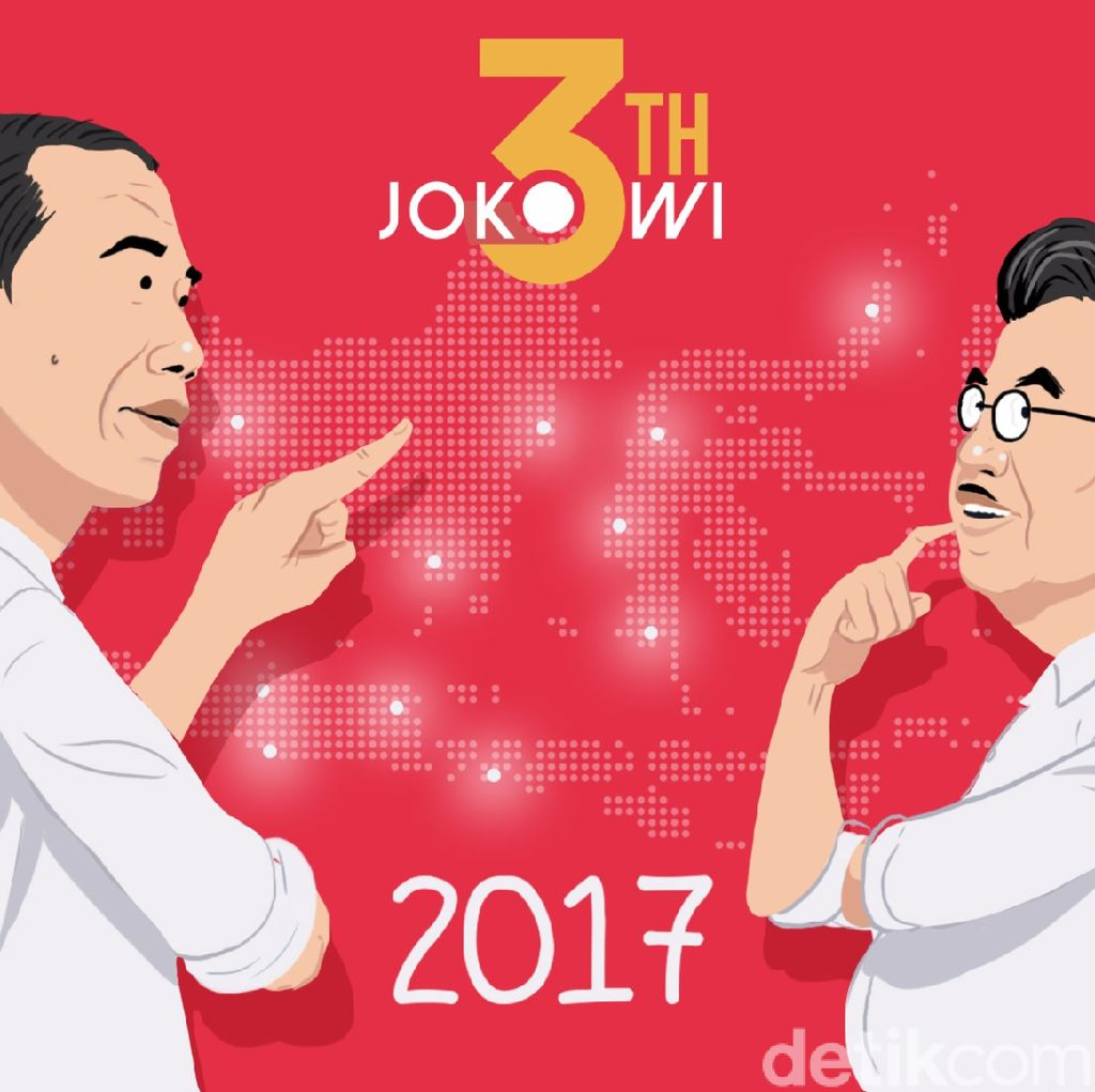 PolMark: Dianggap Kerjanya Terbukti, 57,6% Warga Puas dengan Jokowi