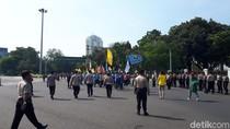 3 Tahun Jokowi-JK, Mahasiswa Demo di Depan Istana