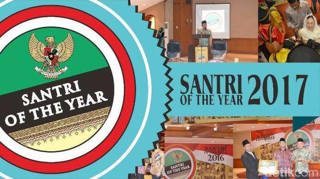 Polling Santri of the Year 2017 Mencapai 1,4 Juta Votes