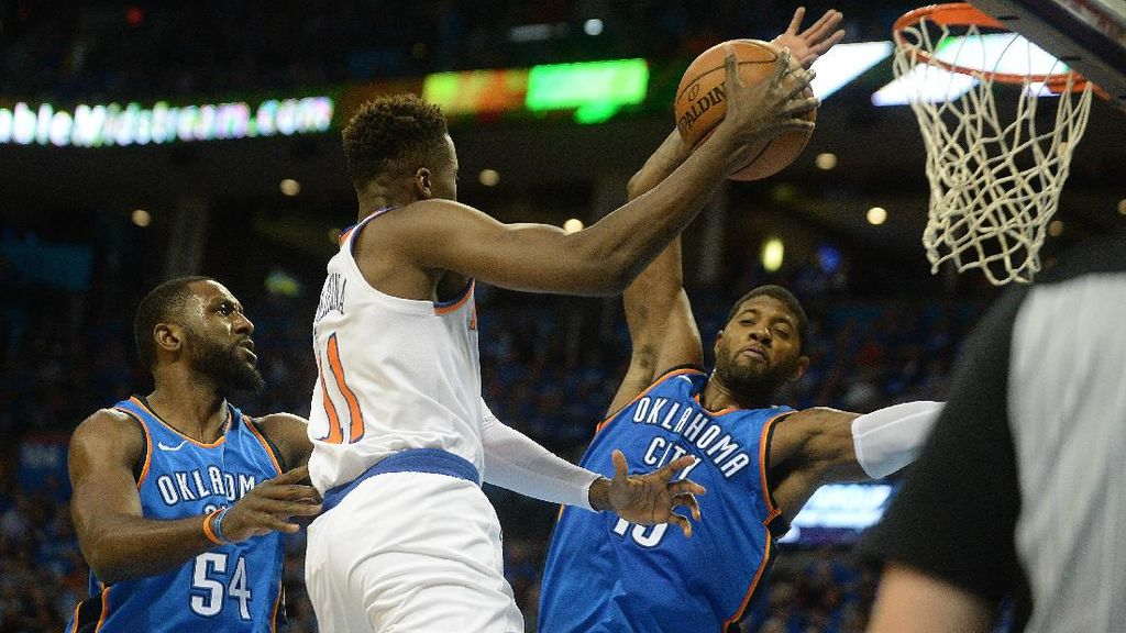 Triple-double Westbrook Bawa Thunder Kalahkan Knicks