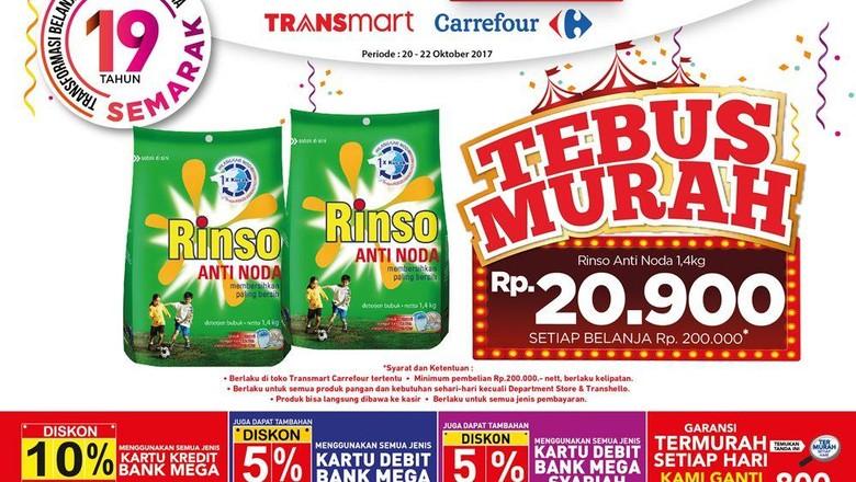 Foto: Tebus murah sabun (Dok. Transmart Carrefour)