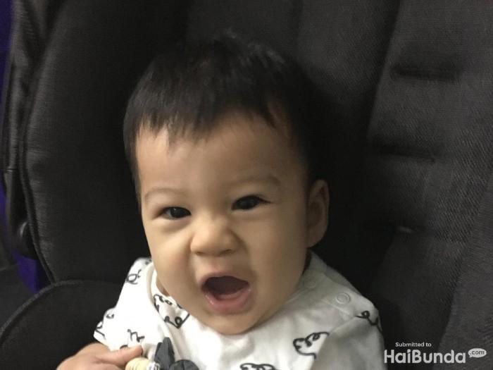 Smile! Senyum Menggemaskan Iori, Anak Putri Titian dan Junior Liem