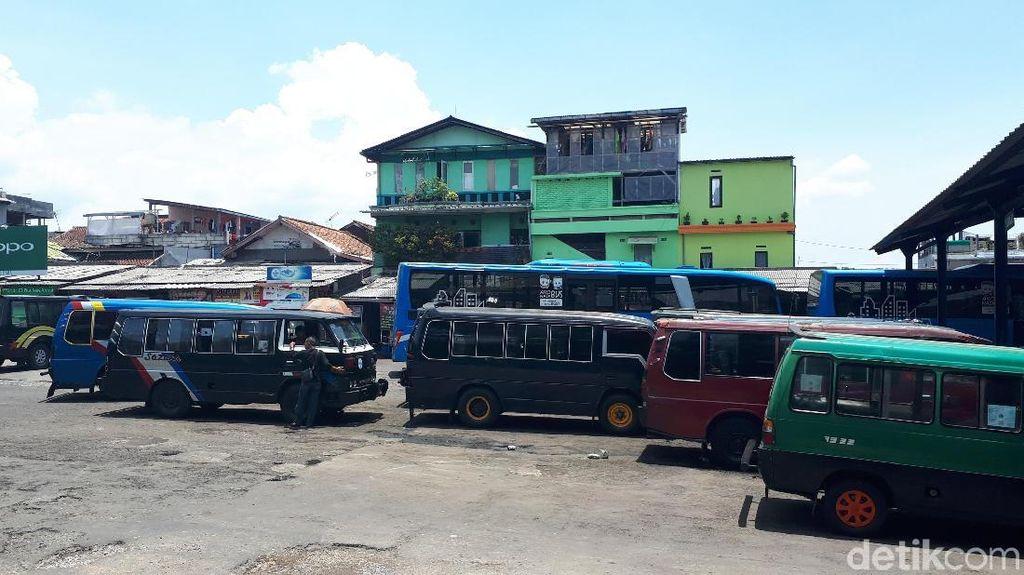 Pro Kontra Pedagang Soal Pemindahan Terminal Ledeng Bandung
