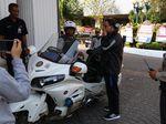 Kemacetan Ekstrim Alasan Anies Gunakan Motor ke Balai Kota