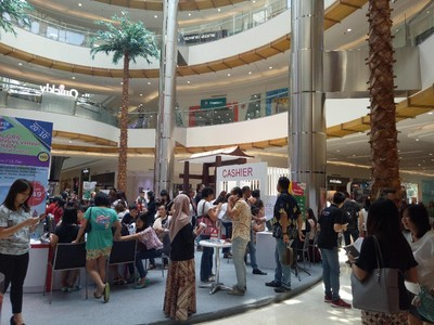 Traveler Surabaya Makin Antusias di Mega Travel Fair Hari Kedua