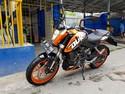 KTM Duke 200 yang Simple dan Elegan