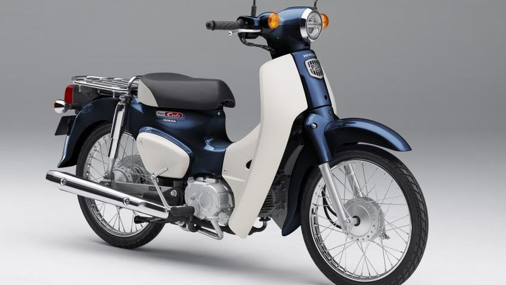 Honda Siap Pamer Motor Legendaris Honda Cub