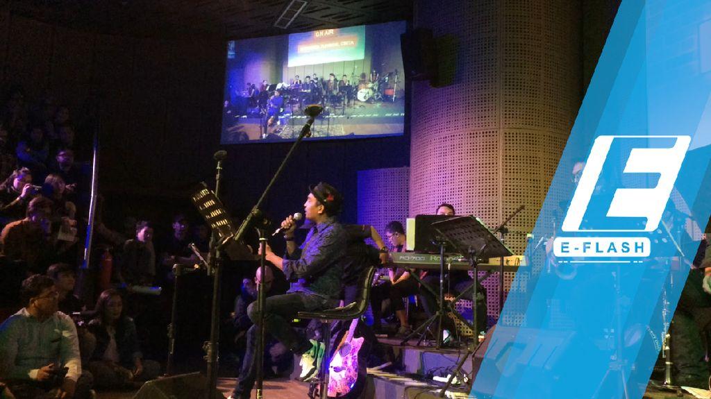 Seru! Glenn Fredly Gelar Mini Konser Bhinneka Tunggal Cinta