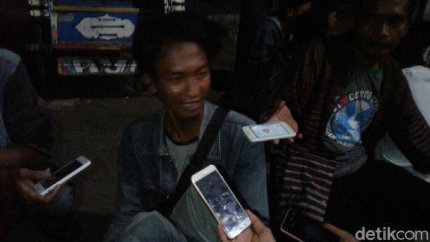 Liput Aksi Mahasiswa, Wartawan di Serang Sempat Dipukuli Oknum Polisi