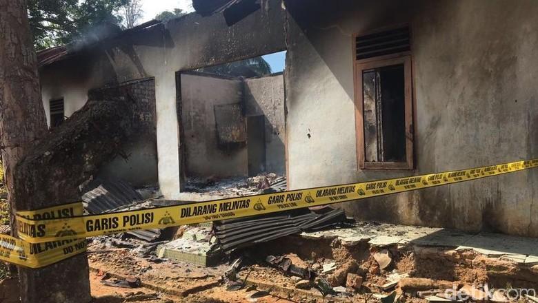 Petani Tewas Ditembak, Kantor Afdeling PTPN Banyuasin Dibakar Massa