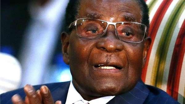 Presiden Zimbabwe Mugabe Akhirnya Mundur