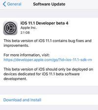 Apple Kirim iOS 11.1 Beta 4, Apa yang Baru?