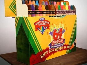 Uniknya Cake Bentuk Crayon, Unicorn hingga Play Station!