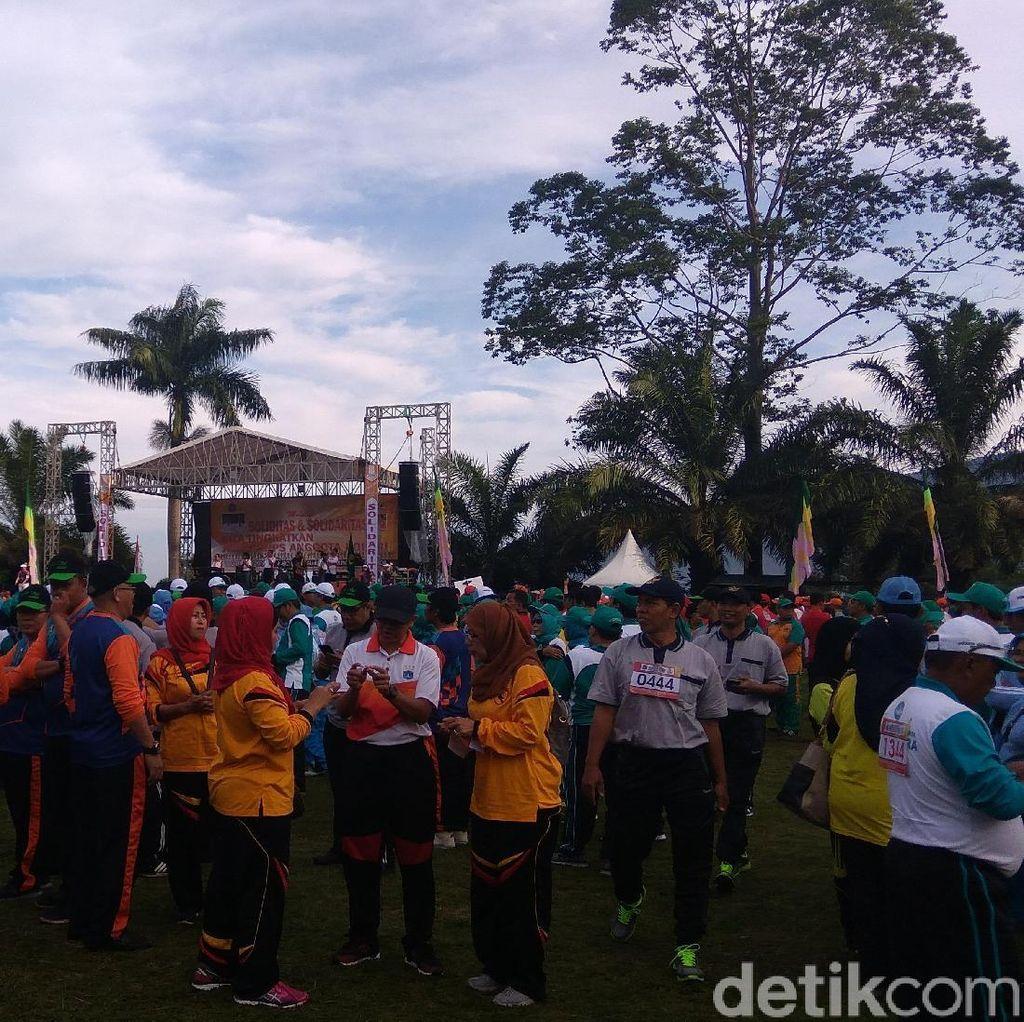 Pilih Bikin Acara di Puncak, Korpri DKI: Untuk Suasana Baru