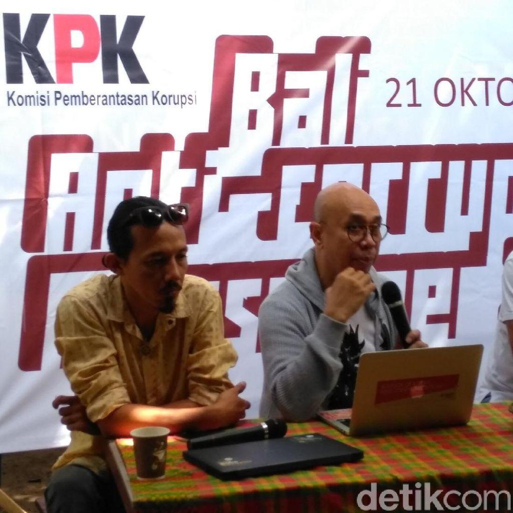 Sebar Pesan Antikorupsi, KPK Gandeng Komunitas Sepeda di Bali