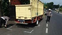 Kecelakaan 2 Motor dan 1 Truk di Puncak, 2 Orang Tewas