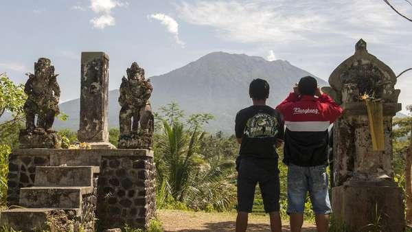 Status Gunung Agung Jadi Siaga, Pengungsi Bisa Kembali ke Rumah