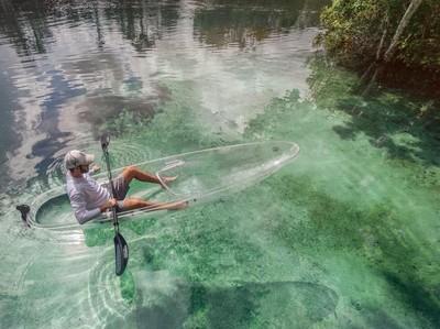 Foto: Serasa Melayang di Atas Air