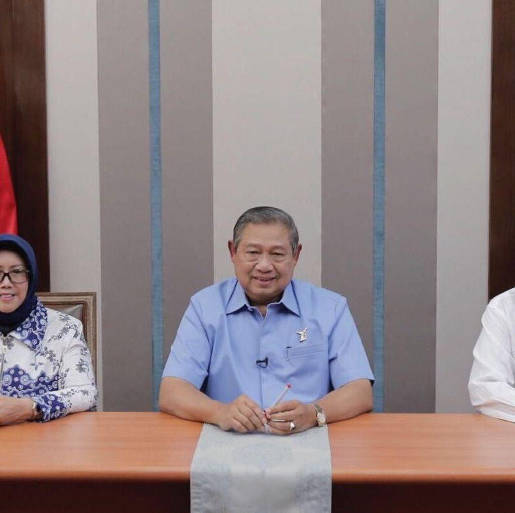 3 Tahun Jokowi, SBY: Dukung Pemerintah Rampungkan Tugas