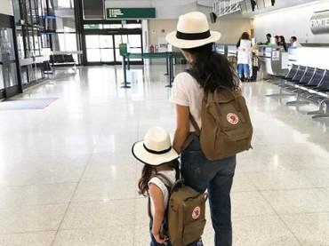 Linda sangat mencintai fashion karena itu ia tidak segan menerapkannya ke anak-anaknya juga. (Foto: Instagram/babyellestyle)