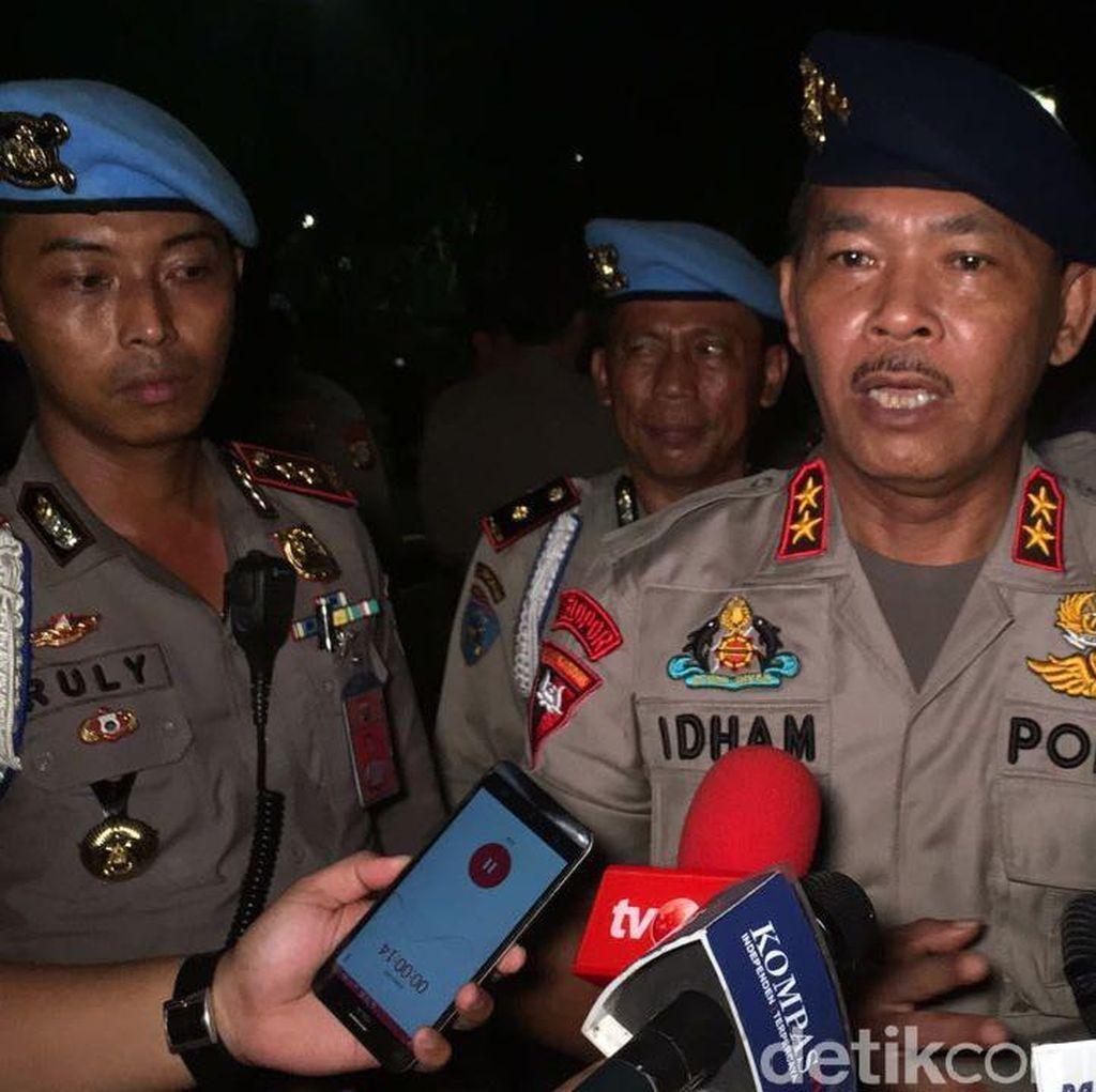 Kapolda: 9 Orang Diamankan dari Demo di Dekat Istana