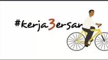 3 Tahun Pimpin RI, Jokowi Posting Video #kerja3ersama