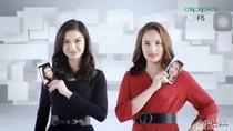 Chelsea Islan dan Raline Shah Pamer Oppo F5