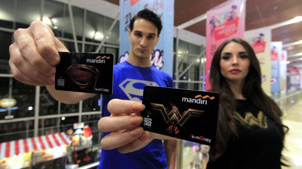 Kartu e-Money Edisi Khusus Super Heroes