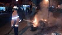 1 Motor Terbakar Saat Tawuran, Polisi Masih Lakukan Penyelidikan