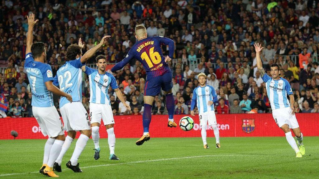 Soal Gol Kontroversial Barca, Pelatih Malaga: Sudah Jelas Sekali