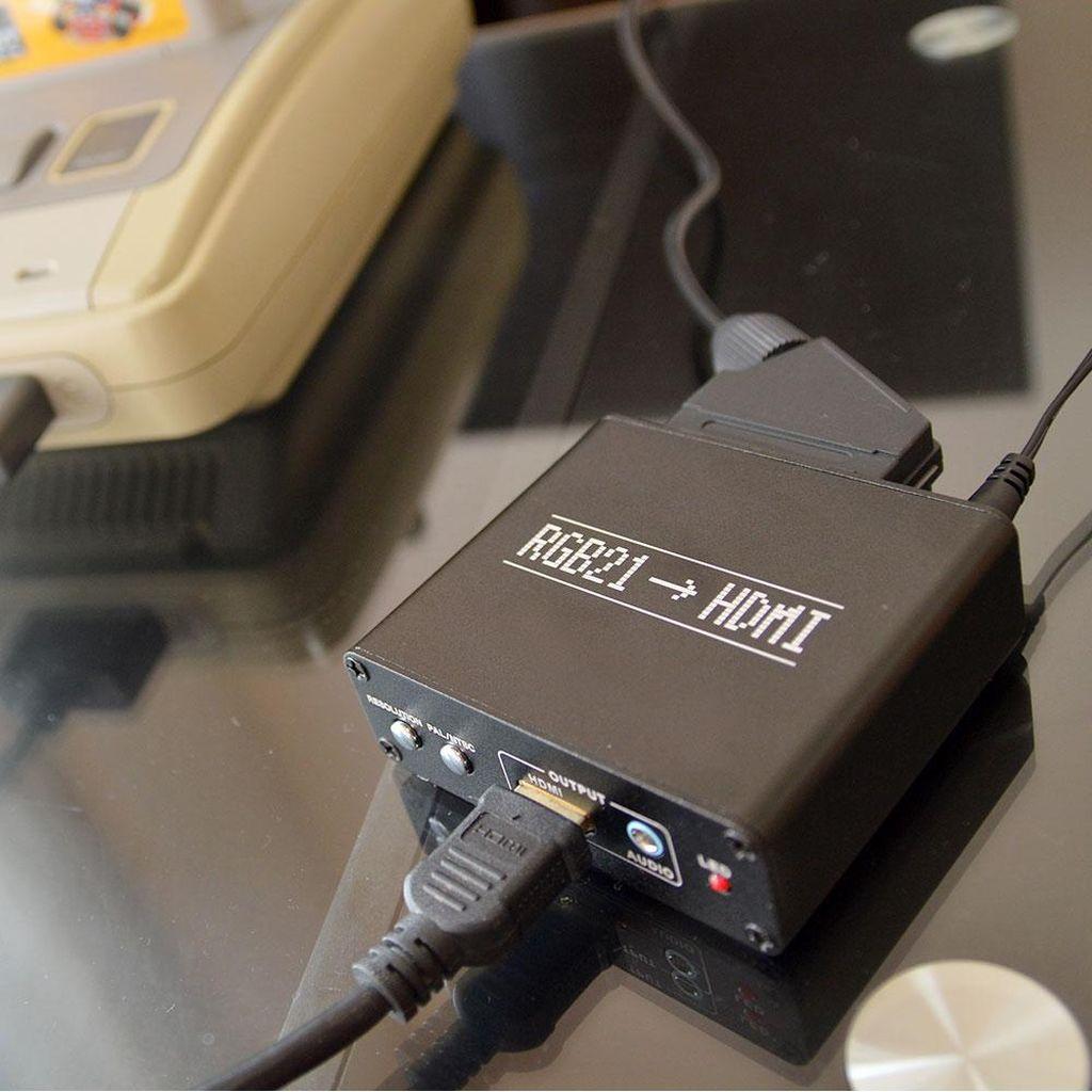 Adaptor Ini Memungkinan Main Konsol Jadul dengan HDMI