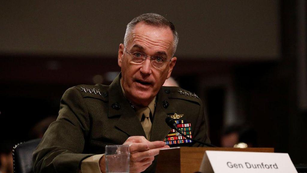 Ini Jenderal Dunford, Sosok Sahabat yang Undang Panglima TNI ke AS