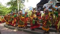 Penampilan Karya Tari Guruh Pukau Penonton Festival Kesenian Prigi