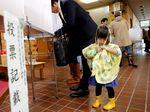 Jepang Dilanda Topan Lan di Hari Pemilihan