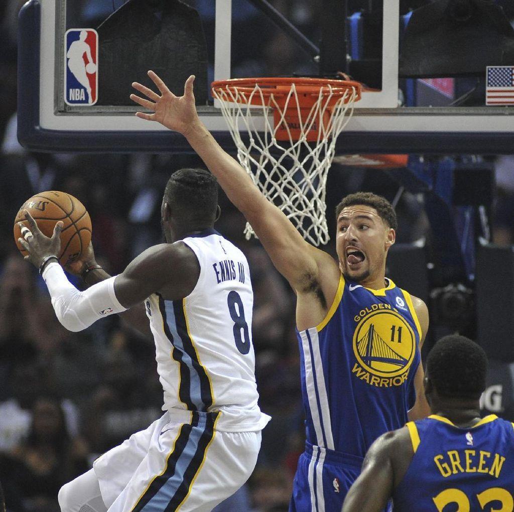 Suns Belum Juga Menang, Warriors Telan Kekalahan Kedua