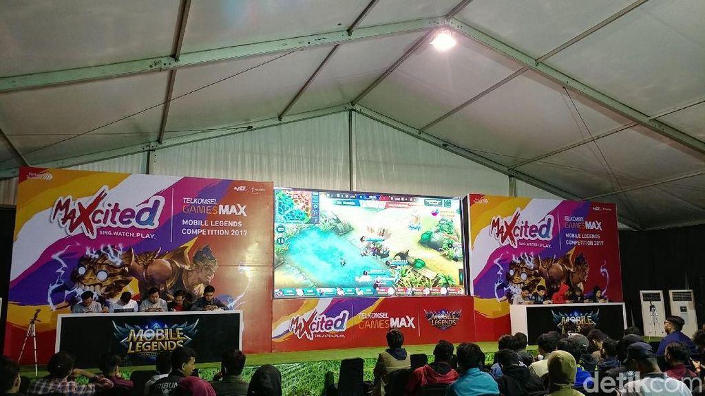 64 Tim Adu Jago Mobile Legends di Bandung