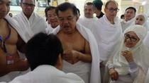 Sebelum Pulang ke RI, Wapres JK Tawaf Wadak di Masjidil Haram