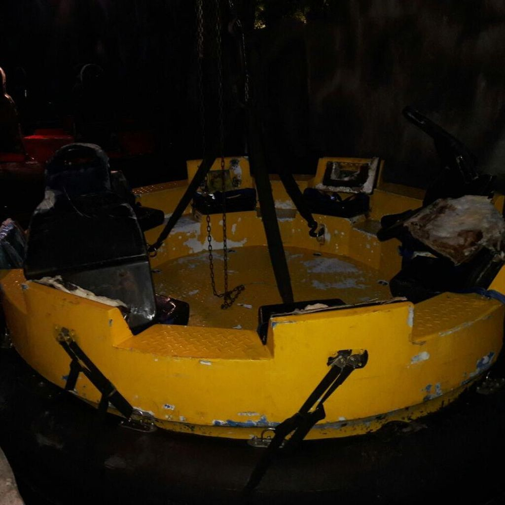 Ancol: Ombak Tak Stabil Penyebab Perahu Wahana Terbalik