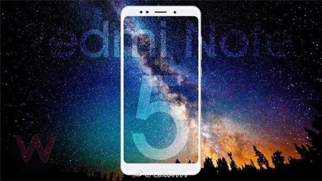Penampakan Nyata Redmi Note 5 yang Menggoda