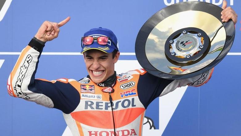 Klasemen MotoGP: Marquez Lebarkan Jarak dari Dovizioso