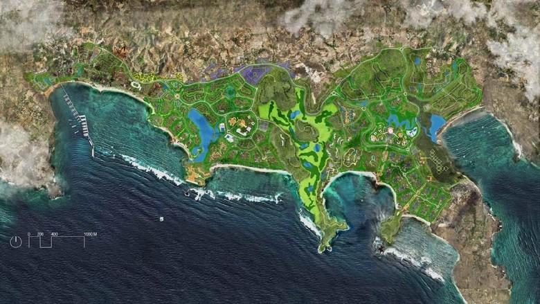 Foto satelit kawasan Mandalika (ITDC)