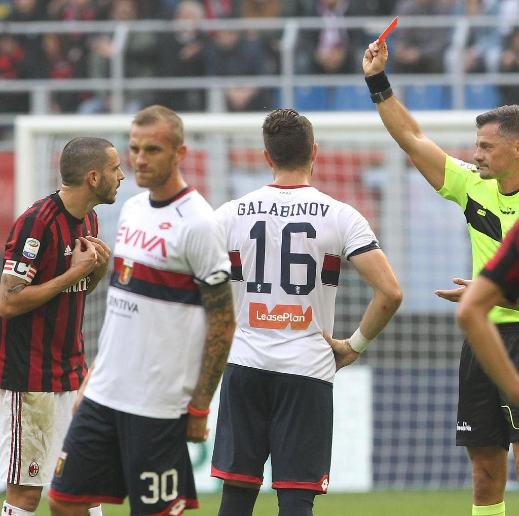 Diskors Dua Laga, Bonucci Absen Lawan Juventus