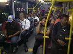 Nyaris Salah Jalur, Sopir TransJ Rute Ekspres Diingatkan Penumpang