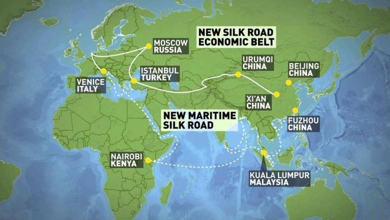 Australia Khawatir Rencana Jalur Sutra Baru